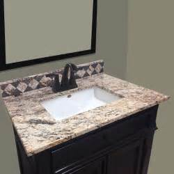 Bathroom Vanity Tops Menards Impressions 31 Quot X 22 Quot Golden Beaches Vanity Top At Menards 174