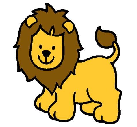 imagenes de leones a color leon dibujo a colores imagui