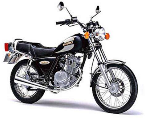 Suzuki Microfiche Suzuki 125 Gn 1988 Fiche Moto Motoplanete