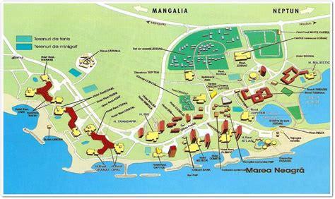 jupiter resort map guida di viaggio romania vacanza romania