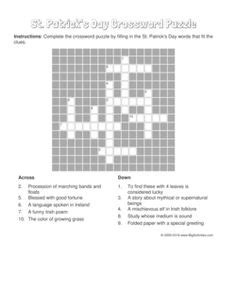 Drawing 7 Crossword by Pattern Worksheets For Black White Basic Shapes