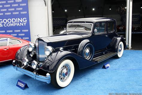 Cisco Upholstery 1934 Packard Twelve Model 1107 Review Supercars Net