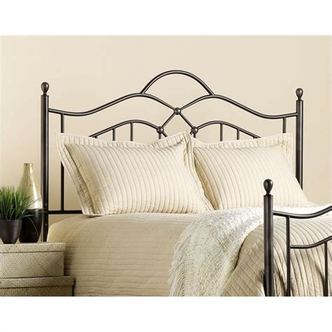 hillsdale headboard hillsdale oklahoma metal headboard in bronze finish 1300 xx0