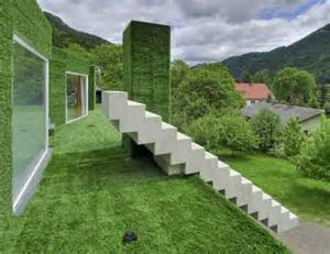 grass haus grass covered house designed by architect weichlbauer