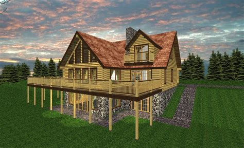 adirondack home plan home design and style