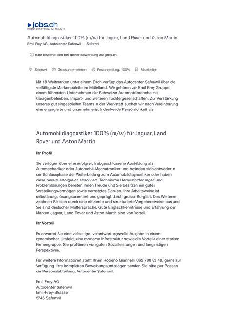 Daimler Bewerbung Per Post Bewerbung Per Post Schicken Macht Das Heute Noch Coach