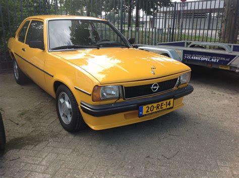 Opel Ascona by Opel Ascona B Nr 05 Autoschade Erwin Peters Lochem