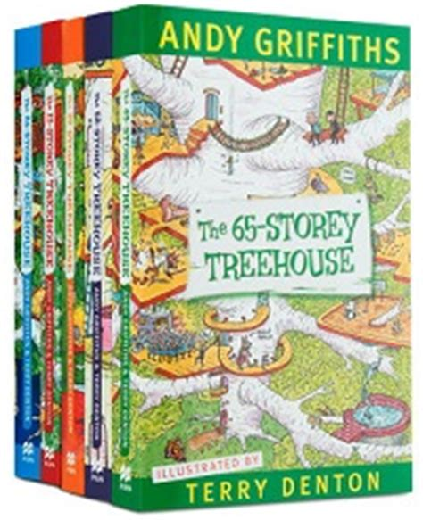 terry treetop and abigail collection books the treehouse series andy griffiths terry denton 5 new