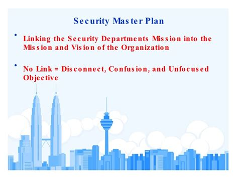 security master plan template physical security assessment