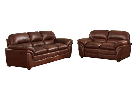 cognac leather reclining sofa baxton studio redding cognac brown leather modern sofa set