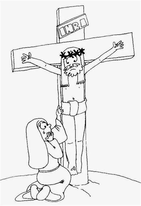 imagenes de jesus crucificado para colorear 174 blog cat 243 lico gotitas espirituales 174 semana santa para