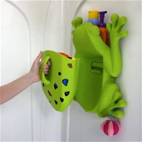 frog toy holder bathtub bath toy storage
