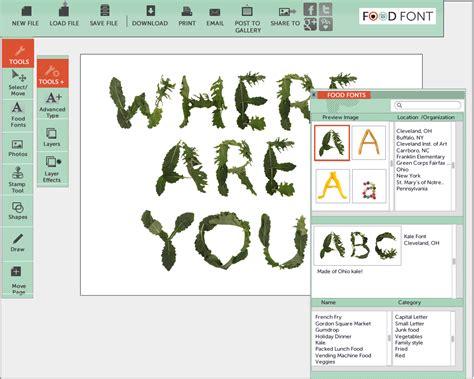 font design software online kristen baumlier