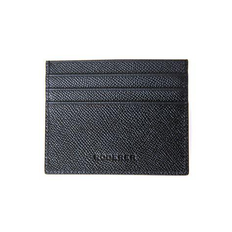 Card Holder 6slots by Card Holder 6 Slots Black Roderer Touch Of Modern