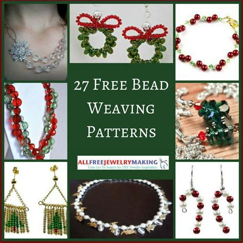 free bead weaving patterns 27 free beading patterns for jewelry