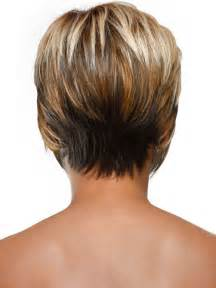 hairstyles showing front and back views show short stacked wispy bob back view short hairstyle 2013