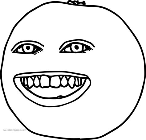 annoying orange coloring pages coloring pages
