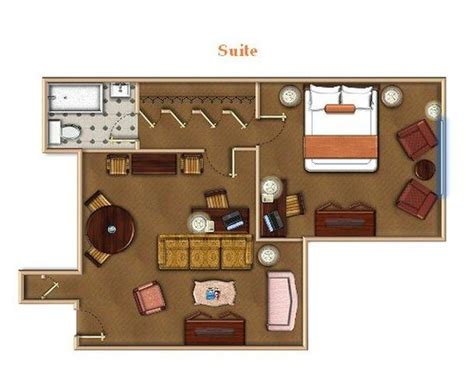 hotel suite floor plan 301 moved permanently