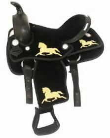 Horse Saddle Double T Synthetic Pony Saddle
