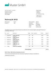 Rechnungsvorlagen Muster Rechnungsvorlage Word Rechnungsmuster I Weclapp