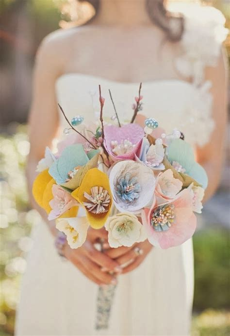 How To Make Paper Flower Bouquets For Weddings - memorable wedding paper flower weddings flowers galore