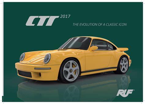 ruf porsche 2017 2017 ruf ctr conceptcarz com