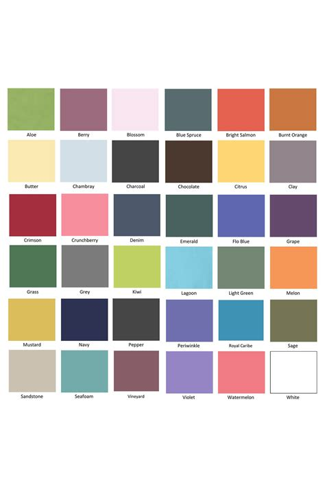 comfort colors colors chart comfort colors long sleeve t shirts color chart comfort