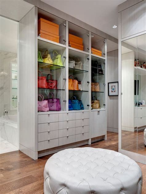 Bag Closet Design by How To Organize Your Handbags And Purses Glam Radar