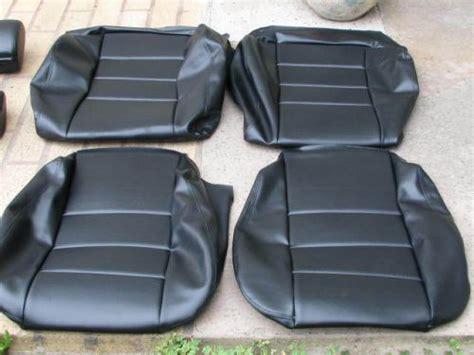 bmw seat upholstery kits purchase bmw e24 635csi l6 87 89 comfort seat kit black