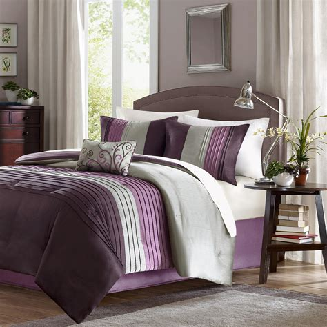 purple king comforter set sears com