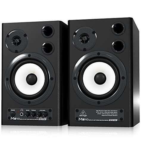 Speaker Multimedia Ms 300 behringer ms40 paire d haut parleurs de monitoring
