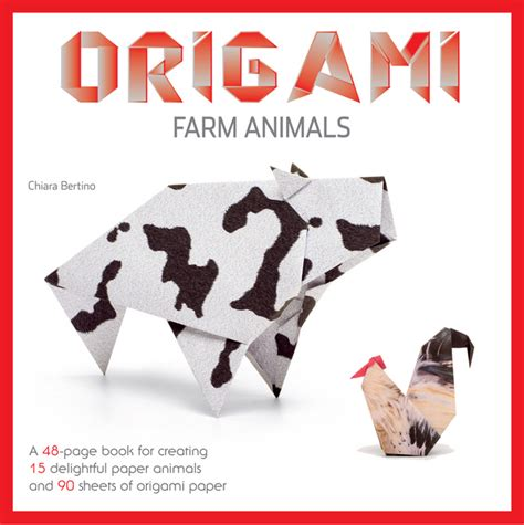 origami farm animals book sterling publishing sterling publishing