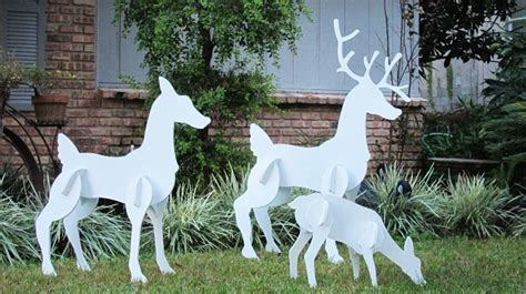 lighted lawn decorations sale outdoor decorations cathy