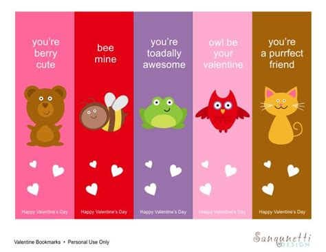 printable bookmarks pinterest printable bookmarks template free printable valentine