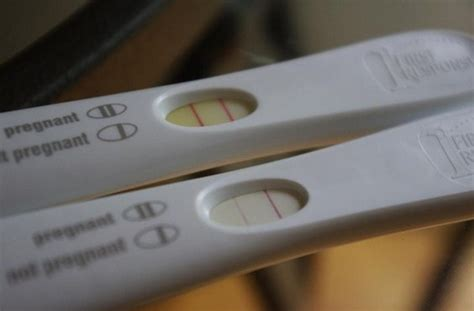 positive pregnancy test pictures