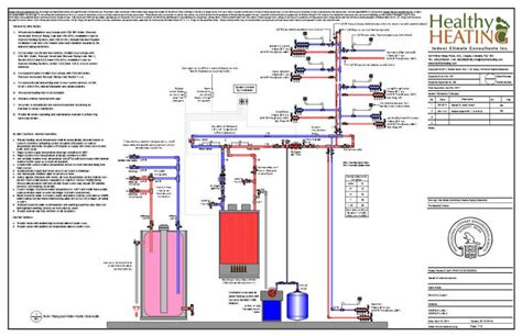 boiler room schematic sle set 3 design drawings and specifications for residential hvac systems