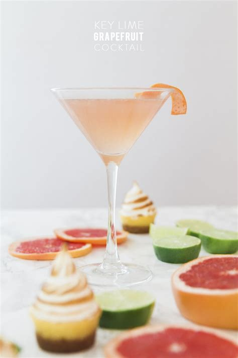 martini grapefruit grapefruit cocktail key lime and cocktails on pinterest