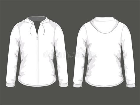 hoodie design free download white hoodie templates stock illustration image of skate