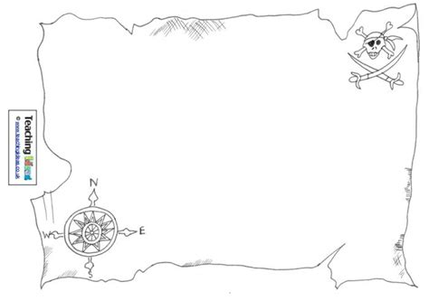 printable pirate maps 7 best images of printable pirate map template printable