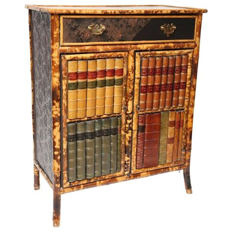 chinese bamboo kitchen cabinet for sale at 1stdibs 19th century english bamboo with faux front cabinet for