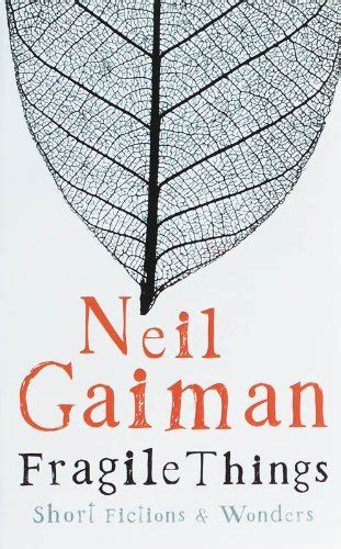 libro fragile things libro make good art di neil gaiman