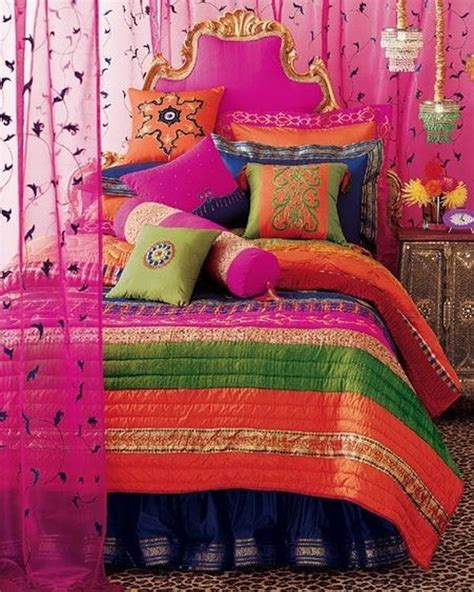 colorful bedroom curtains 10 beautiful bohemian bedroom ideas noted list