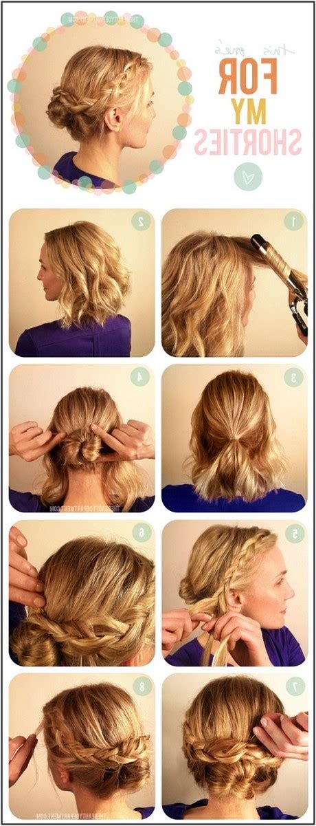 Easy Bridesmaid Hairstyles For Medium Length Hair by Easy Hairdos For Medium Length Hair