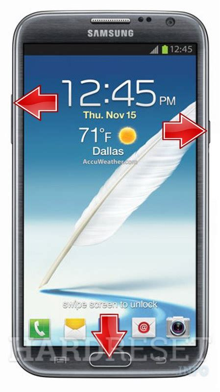 reset android note 2 hard reset samsung l900 galaxy note ii dk hard reset