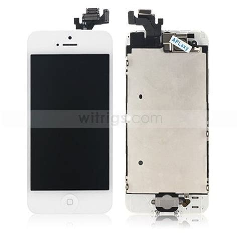 Lcd Iphone 5 Oem oem apple iphone 5 replacement lcd screen with digitizer and small parts white oem iphone 5