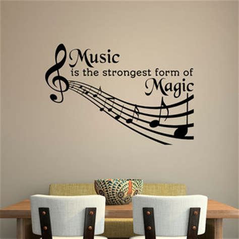 music decals for bedroom music quotes wall decal music is the from fabwalldecals
