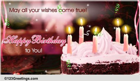 Happy Birthday Cards With Name Edit Make A Birthday Wish Free Birthday Wishes Ecards