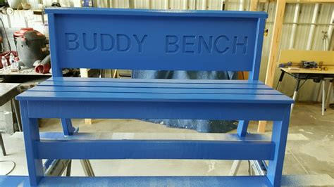 the buddy bench stanley hupfeld academy donates buddy benches to metro