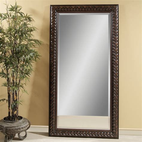 newcombe leaning floor mirror 42w x 80h in mirrors at hayneedle
