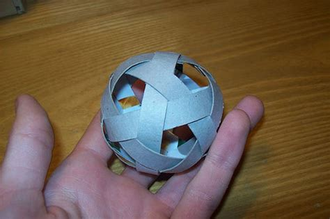 How To Make A Paper Soccer Easy - origami juggling